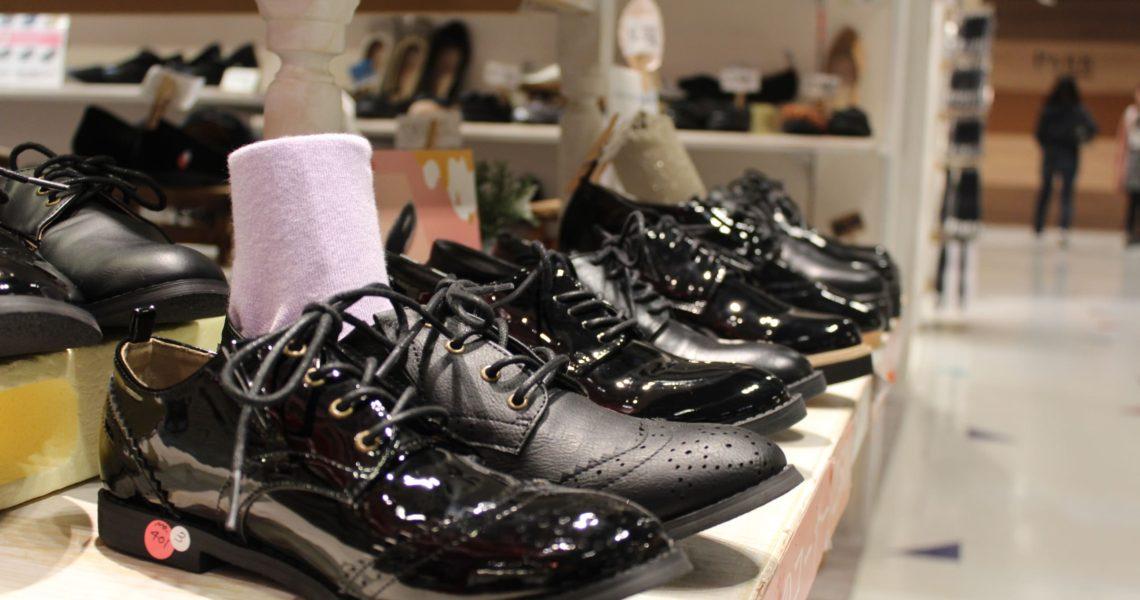 かわいい靴が勢ぞろい